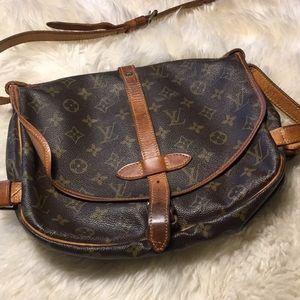 Vintage Double sided authentic LOUIS Vuitton bag